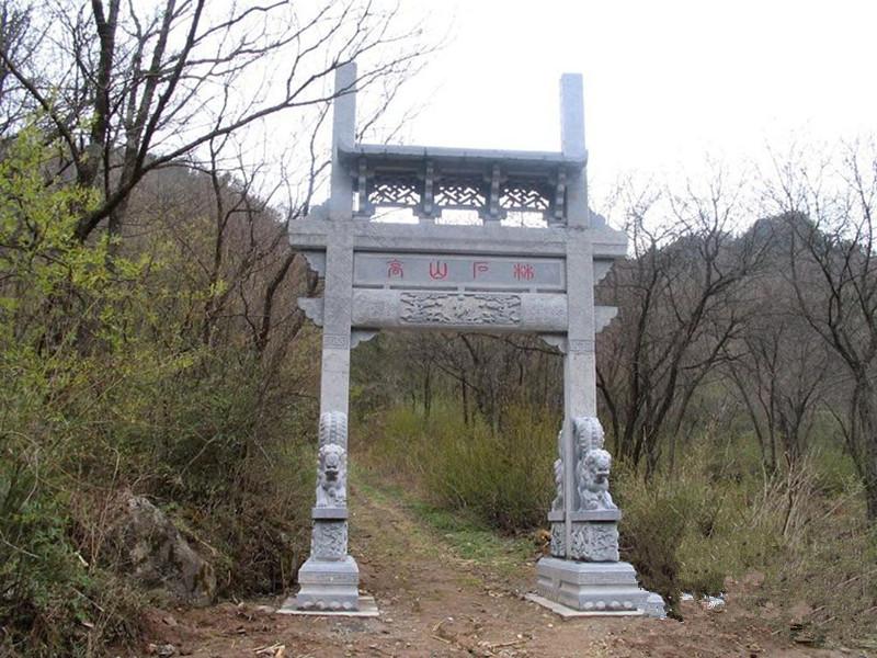 單門石雕牌坊