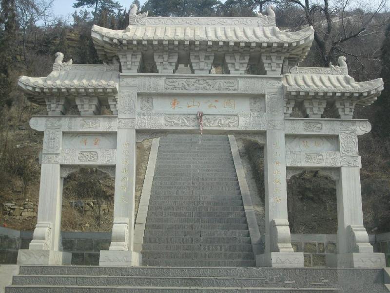 漢白玉石雕牌坊