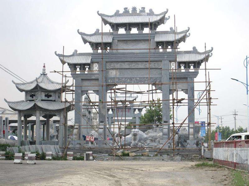 大型石雕牌坊