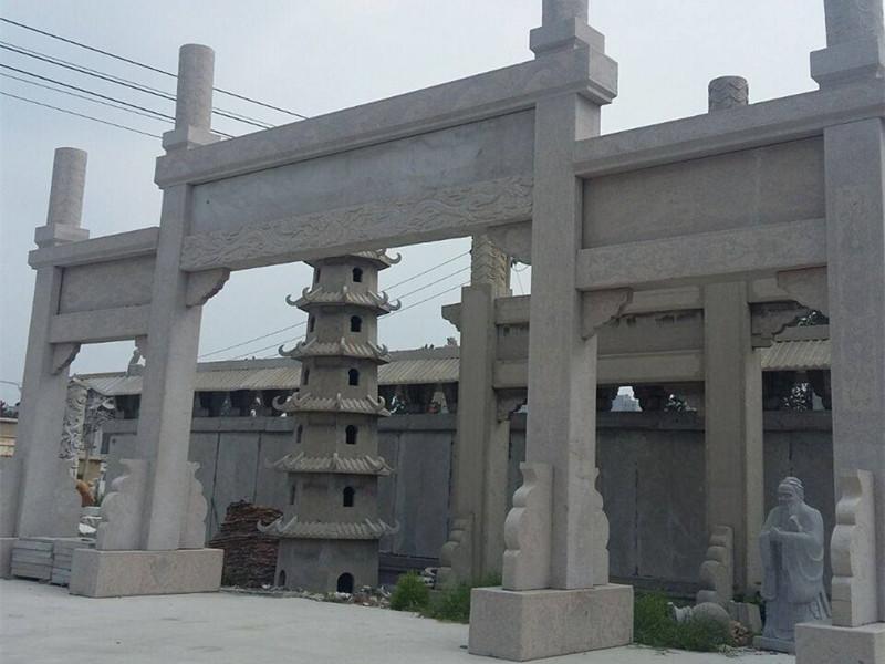 村莊石牌坊在修建過程中如何更具美感?