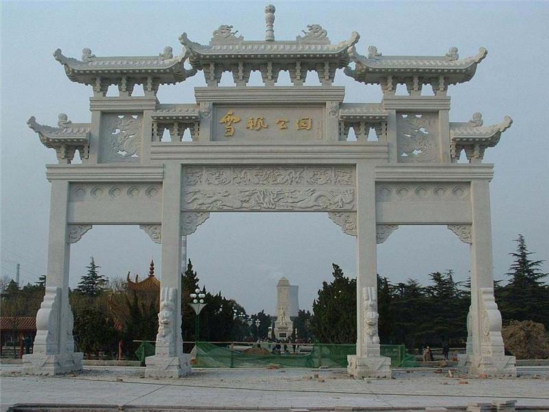 淺談石雕牌坊的歷史起源及演變